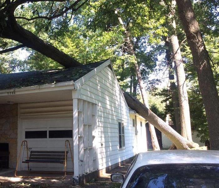 Storm Damage in Sylvania Ohio
